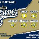 12U Lady Wolverines Banner