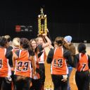 cassidy lifting trophy